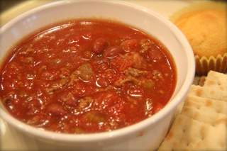 Suzy Johnson's Mom's Chili Recipe