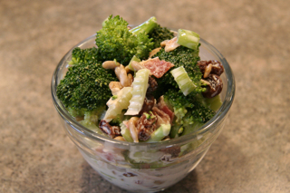 Broccoli-Sunflower Salad by Lois Bartholomew