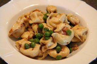Tortellini With Peas and Tarragon
