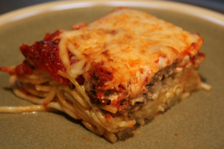 Spaghetti Hotdish