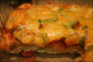 Southwestern Chicken Pizza