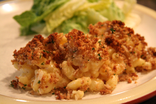 Baked Macaroni and Cheese with Cauliflower recipe from the Bartholomew Buffet - bbuffet.com