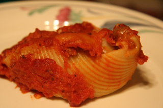 Stuffed Shells recipe from the Bartholomew Buffet - bbuffet.com